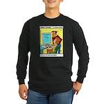 #30 Typo Long Sleeve Dark T-Shirt