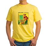 #30 Typo Yellow T-Shirt