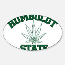 Humboldt Pot State Oval Decal