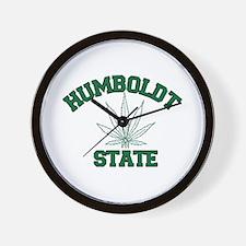 Humboldt Pot State Wall Clock