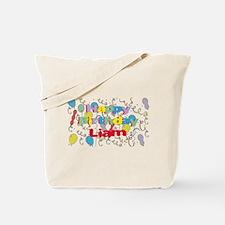 Happy Birthday Liam Tote Bag