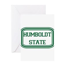 Humboldt State Rect Greeting Card