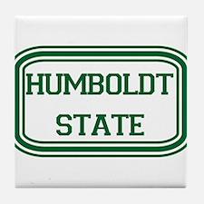 Humboldt State Rect Tile Coaster