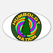 Humboldt Psych Nation Oval Decal