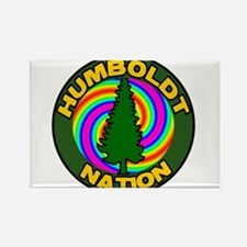 Humboldt Psych Nation Rectangle Magnet