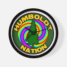 Humboldt Psych Nation Wall Clock