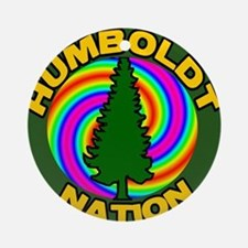 Humboldt Psych Nation Ornament (Round)