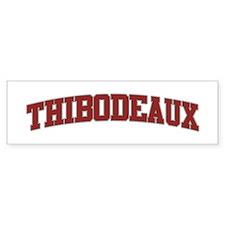 THIBODEAUX Design Bumper Bumper Sticker