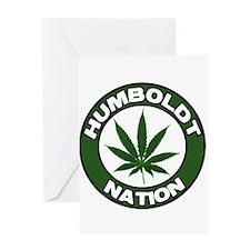 Humboldt Pot Nation Greeting Card