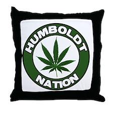 Humboldt Pot Nation Throw Pillow