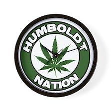 Humboldt Pot Nation Wall Clock