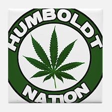 Humboldt Pot Nation Tile Coaster