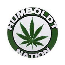 Humboldt Pot Nation Ornament (Round)