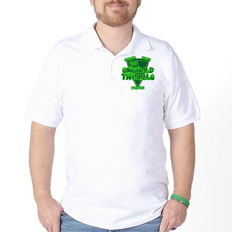 The Emerald Triangle Golf Shirt