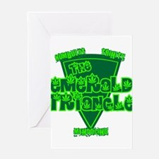 The Emerald Triangle Greeting Card
