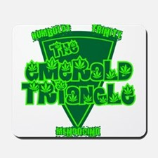 The Emerald Triangle Mousepad