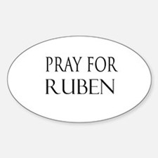 RUBEN Oval Decal