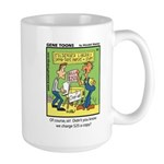 #35 $25 a copy Large Mug