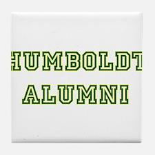 Humboldt Block Alumni Tile Coaster