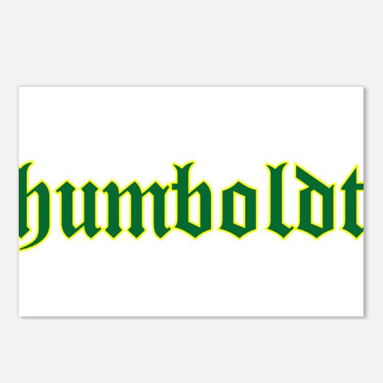 Humboldt Green Script Postcards (Package of 8)