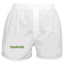 Humboldt Green Script Boxer Shorts
