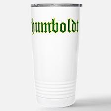Humboldt Green Script Travel Mug