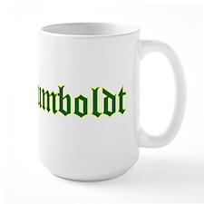 Humboldt Green Script Mug