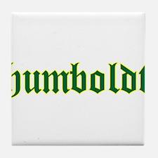 Humboldt Green Script Tile Coaster