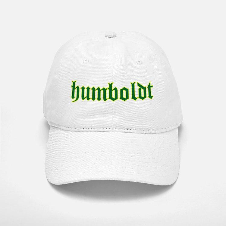 Humboldt Green Script Baseball Baseball Cap