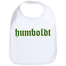 Humboldt Green Script Bib