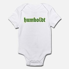 Humboldt Green Script Infant Bodysuit