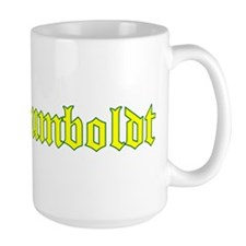 Humboldt Gold Script Mug