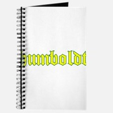 Humboldt Gold Script Journal