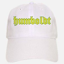 Humboldt Gold Script Baseball Baseball Cap
