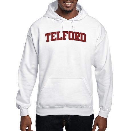 TELFORD Design Hooded Sweatshirt