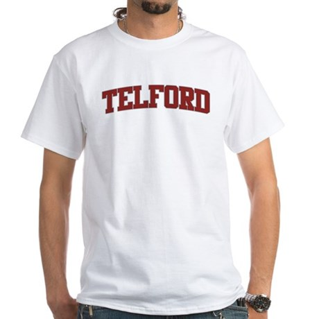 TELFORD Design White T-Shirt