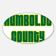Humboldt County Oval Decal