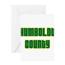 Humboldt County Greeting Card