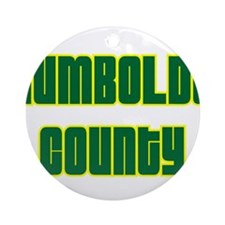 Humboldt County Ornament (Round)