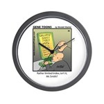#38 Limited index Wall Clock