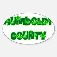 Humboldt County Pot Oval Decal