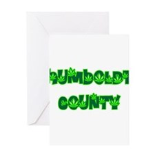 Humboldt County Pot Greeting Card