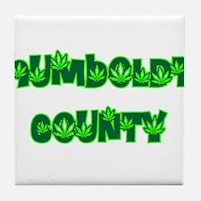 Humboldt County Pot Tile Coaster
