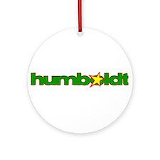 Humboldt Star Ornament (Round)
