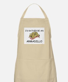 I'd Rather Be An Armadillo BBQ Apron