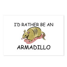 I'd Rather Be An Armadillo Postcards (Package of 8