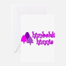 Humboldt Hunnie Greeting Card