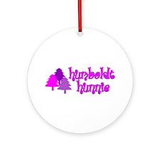 Humboldt Hunnie Ornament (Round)