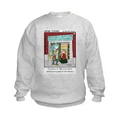 #39 Pencil and paper Sweatshirt