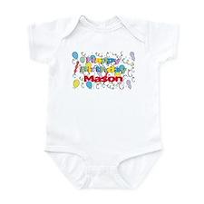 Happy Birthday Mason Infant Bodysuit